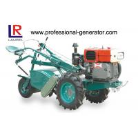 Buy cheap 4 - Stroke Mini Harvester Tractor 9.7kw Diesel Power Rotary Tiller Single Cylinder from wholesalers