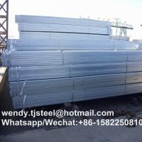 Buy cheap zinc 40g-60g hot dipped galvanized square pipe for fence post in China from wholesalers
