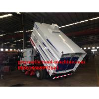 Buy cheap Light Road Sweeper Truck With Stainless Steel 5m³ GarbageTank 1100L Water Box For Airport Airway from wholesalers