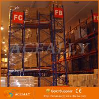 Buy cheap Heavy Duty Push back pallet racking systems from wholesalers