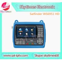 Buy cheap Digital satellite finder HD mpeg-4 ws-6951 HD DVB-S2 from wholesalers