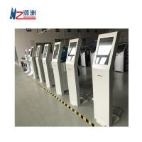Buy cheap White Coated Ticket Vending Kiosk 19  Screen With Dual Amplified Speakers from wholesalers