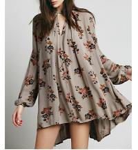Buy cheap Ladies fahsion print swing tunic, long sleeve short dress, blouse from wholesalers