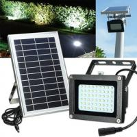 Buy cheap Eco - Friendly Outdoor Solar Street Light / Solar Flood Light Low Light Decay from wholesalers