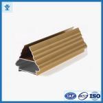 Buy cheap Golden Color Aluminum Profile for Art Door from wholesalers