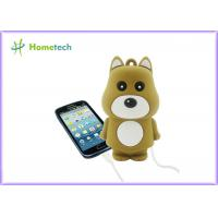 Buy cheap Mini Cute Rechargeable Powerbank Stylish Bear Shape For Mobile Phone from wholesalers