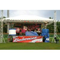 Buy cheap Silver Alloy Aluminum Stage Truss / Metal Roof Trusses For Lighting from wholesalers