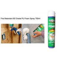 Buy cheap All Purpose Waterproof Silicone Sealant Fireproof High Density Exterior PU Foam Spray from wholesalers