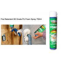 All Purpose Waterproof Silicone Sealant Fireproof High Density Exterior PU Foam Spray