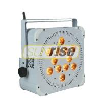 Buy cheap High Bright Wireless Par Cans Lights , Remote Controlled Wireless Led Lights from wholesalers