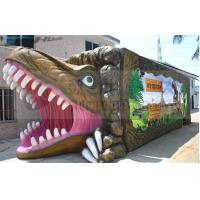 Buy cheap Soundproof Dinosaur Box 5D Movie Theater 9 Seats With Luxury Movement Chair product