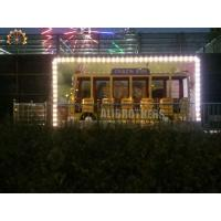 Buy cheap Children Playground Crazy Dance Ride , Customized Waves Crazy Bus Ride from wholesalers