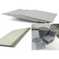 Buy cheap Eco-friendly Stiffness Thicker Grey Straw BoardPaper Standard size 889mmx1194mm from wholesalers