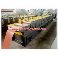 Buy cheap Corrugated Metal Roof Ridge Cap Sheets Roll Forming Line with No. 45 High Quality Steel Rolling System from wholesalers