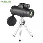 Buy cheap 10X42 Green Coated Mobile Phone Mini Monocular Telescope Bk7 Prism Handwheel Focusing from wholesalers
