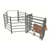 Buy cheap Feedlot Portable Cattle Yard Panels High Strength Easily Assembled from wholesalers