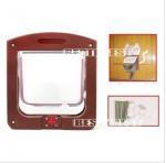 Buy cheap 24.4*20.3*3cm 4Way lockable Cat door/Cat flap from wholesalers