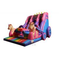 Buy cheap Pvc Material Large Inflatable Slide Display Custom Slide For Adults En14960 from wholesalers