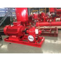 Buy cheap Electrical Fire Fighting Pump System / Bronze Impeller End Suction Fire Pump from wholesalers