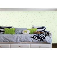Buy cheap Flower Grass Design Kids Bedroom Wallpaper 0.53*10m With Embossed And Printing Tech product