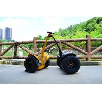Buy cheap 72V Brushless Motor Off Road Segway Transporter For Leasing / Tour / Patrol from wholesalers