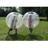 Buy cheap Inflatable Bubble Soccer Ball Fashionable Buper Ball sports entertainment football inflatable body zorb ball from wholesalers