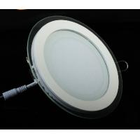 Buy cheap LED Panel Light with Glass Panel Lighting led down lamp 15W aluminum white housing from wholesalers