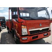 HOWO Light Duty Trucks 4×2 Drive Type 3800mm Wheelbase 10 Ton Weight Capacity