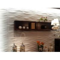 Buy cheap Indoor Wall Panels 3D Decorative Wall Panels 3d Wave Board for KTV / Bar Background product