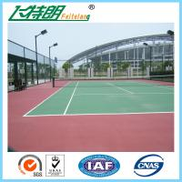 Buy cheap SGS Athletic Gymnasium Flooring Outdoor Play Surfaces Non Toxic Water Solubility from wholesalers