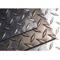Buy cheap Diamond Aluminum Tread Plate Alloy 3003 Customized Demensions For Steps from wholesalers