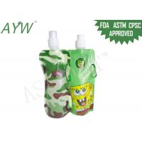 Buy cheap LDPE Drinking Spouted Pouches PackagingGravure Printing With Carabiner from wholesalers