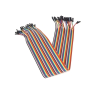 Buy cheap Female To Female 40cm 40 Pin Solderless Breadboard Jumper Wires from wholesalers