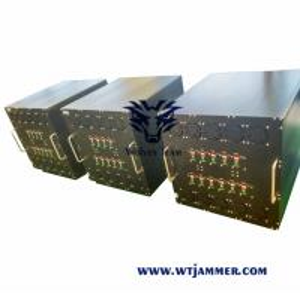 Buy cheap GSM CDMA 3G 4G WIFI VHF UHF 800w Vehicle Signal Jammer from wholesalers