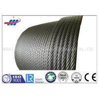 Buy cheap Hot Dipped Galvanized Steel Wire Rope For Building , 19x7 Non Spin Wire Rope Cable from wholesalers
