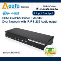 Buy cheap 4in 6 out Port HDMI 1080P Extender source signal Splitter or Switch from wholesalers
