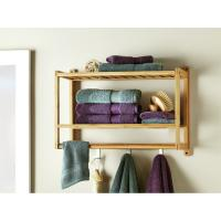 Buy cheap wall mounted shower towel shelves for bathroom from wholesalers