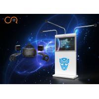 Dynamic 360 Degree Virtual Reality Simulator VR Game Machine 800W Power