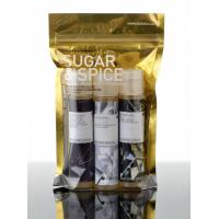 Buy cheap Recycle Foil Bag Packaging , Clear Front and Back Foil Zipper Mylar Food Bags from wholesalers