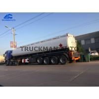 Buy cheap 50m³ 4 Axles Oil Tank Trailer China Best Brand Manufacturer 3-7 Compartments from wholesalers