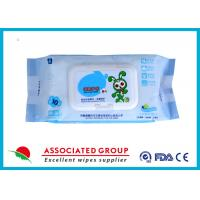 Buy cheap Ultra Packing Baby Cleaning Wipes Pearl Dot Spunlace Uncontinuorsly Extrating 90PCS product