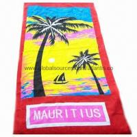 Buy cheap Beach Towel, Cleaning Towels, Promotional Compressed Towel, Embroidered Logo  from wholesalers