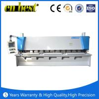 Buy cheap QC11K series hydraulic guillotine CNC shearing machine from wholesalers