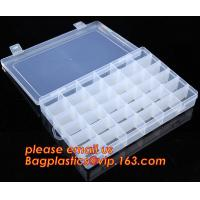 Buy cheap Adjustable Plastic Storage Box For Nail Art Design Decoration, Creative multi-function plastic storage box cosmetics cas from wholesalers