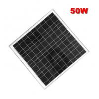 Buy cheap 50W mono cheap price per watt solar panels in china with high quality from wholesalers
