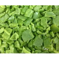 Buy cheap frozen green pepper diced from wholesalers
