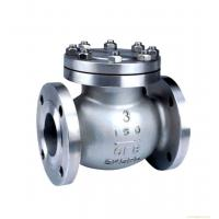 Buy cheap Flange End Cast Steel Swing Check Valve 150LB Pressure BS1868 Design from wholesalers