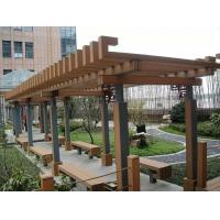 Buy cheap Anti - UV Weather Resist Composite Fence Panels WPC Pergola For Gardern Furniture from wholesalers