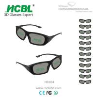 Buy cheap Fashionable Linear Polarized 3D Glasses 45/135 , 0/90 Degree 3D Viewer from wholesalers
