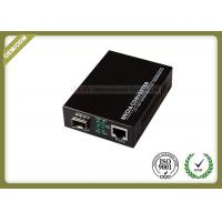 Buy cheap Gigabit SFP Fiber Optic Media Converter with SC or SFP Port with 20~80km from wholesalers
